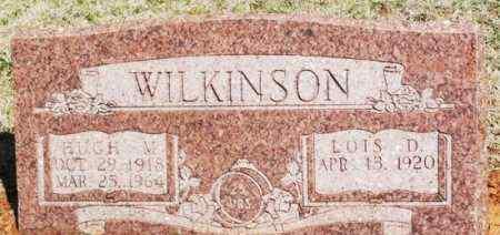 WILKINSON, LOIS D - Washita County, Oklahoma   LOIS D WILKINSON - Oklahoma Gravestone Photos