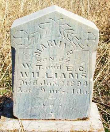 WILLIAMS, MARVIN B - Washita County, Oklahoma | MARVIN B WILLIAMS - Oklahoma Gravestone Photos