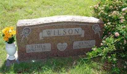 WILSON, RENO - Washita County, Oklahoma | RENO WILSON - Oklahoma Gravestone Photos