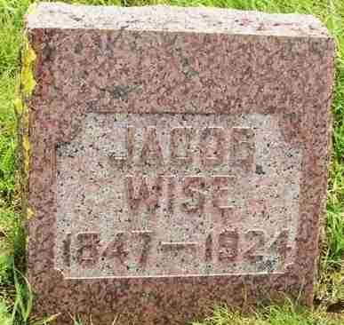WISE, JACOB - Washita County, Oklahoma | JACOB WISE - Oklahoma Gravestone Photos