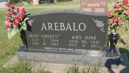 AREBALO, AMY JUNE - Woods County, Oklahoma | AMY JUNE AREBALO - Oklahoma Gravestone Photos