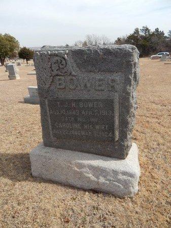 PRATHER BOWER, CAROLINE - Woods County, Oklahoma | CAROLINE PRATHER BOWER - Oklahoma Gravestone Photos