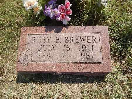 BREWER, RUBY E - Woods County, Oklahoma   RUBY E BREWER - Oklahoma Gravestone Photos