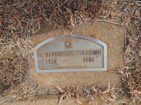 BROWN, BETTIE JO - Woods County, Oklahoma | BETTIE JO BROWN - Oklahoma Gravestone Photos