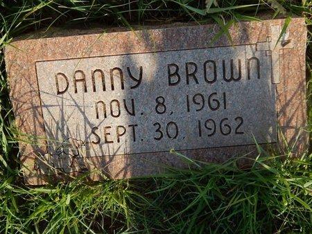 BROWN, DANNY - Woods County, Oklahoma | DANNY BROWN - Oklahoma Gravestone Photos