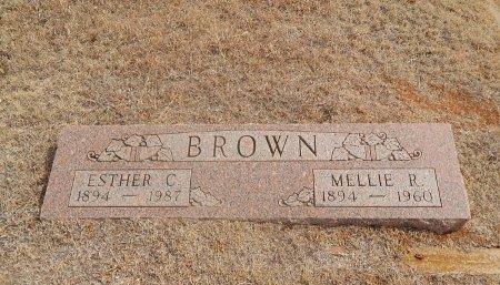 BROWN, MELLIE R - Woods County, Oklahoma | MELLIE R BROWN - Oklahoma Gravestone Photos
