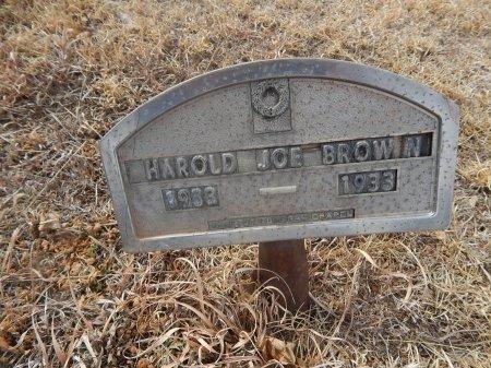 BROWN, HAROLD JOE - Woods County, Oklahoma | HAROLD JOE BROWN - Oklahoma Gravestone Photos