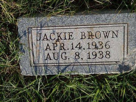 BROWN, JACKIE - Woods County, Oklahoma | JACKIE BROWN - Oklahoma Gravestone Photos