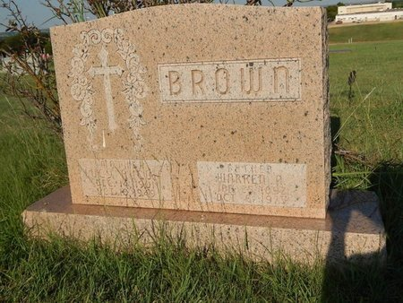 BROWN, LUCY AND WARREN - Woods County, Oklahoma | LUCY AND WARREN BROWN - Oklahoma Gravestone Photos