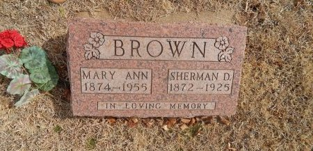 BROWN, MARY ANN - Woods County, Oklahoma | MARY ANN BROWN - Oklahoma Gravestone Photos