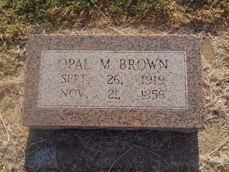 BROWN, OPAL M - Woods County, Oklahoma   OPAL M BROWN - Oklahoma Gravestone Photos