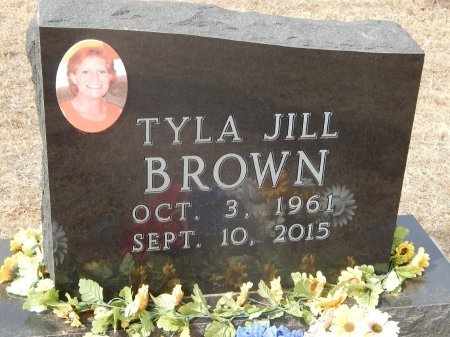 BROWN, TYLA JILL - Woods County, Oklahoma | TYLA JILL BROWN - Oklahoma Gravestone Photos