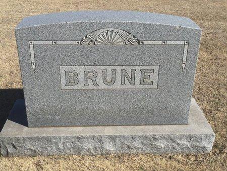 BRUNE, FAMILY MARKER - Woods County, Oklahoma | FAMILY MARKER BRUNE - Oklahoma Gravestone Photos