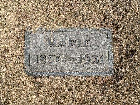BRUNE, MARIE - Woods County, Oklahoma | MARIE BRUNE - Oklahoma Gravestone Photos