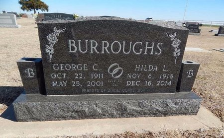 BURROUGHS, HILDA L - Woods County, Oklahoma | HILDA L BURROUGHS - Oklahoma Gravestone Photos