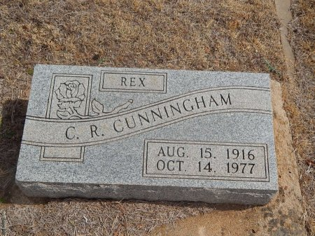 "CUNNINGHAM, C R ""REX"" - Woods County, Oklahoma | C R ""REX"" CUNNINGHAM - Oklahoma Gravestone Photos"