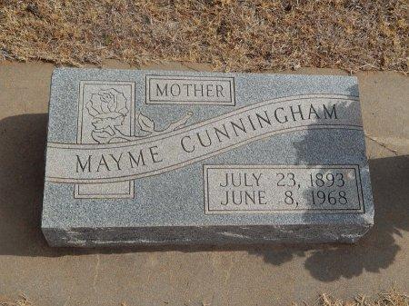 CUNNINGHAM, MAYME - Woods County, Oklahoma   MAYME CUNNINGHAM - Oklahoma Gravestone Photos