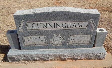 "CUNNINGHAM, ELBERT L ""DICK"" - Woods County, Oklahoma | ELBERT L ""DICK"" CUNNINGHAM - Oklahoma Gravestone Photos"