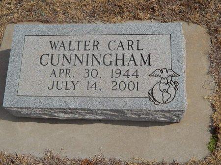 CUNNINGHAM, WALTER CARL - Woods County, Oklahoma | WALTER CARL CUNNINGHAM - Oklahoma Gravestone Photos