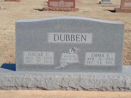 DUBBEN, EMMA E - Woods County, Oklahoma | EMMA E DUBBEN - Oklahoma Gravestone Photos