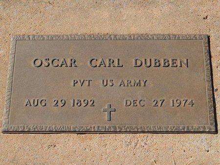 DUBBEN (VETERAN), OSCAR CARL - Woods County, Oklahoma | OSCAR CARL DUBBEN (VETERAN) - Oklahoma Gravestone Photos
