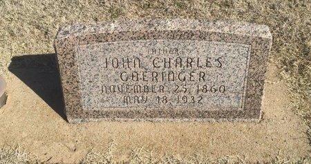 GOERINGER, JOHN CHARLES - Woods County, Oklahoma | JOHN CHARLES GOERINGER - Oklahoma Gravestone Photos