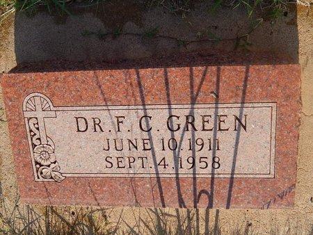 GREEN, F C (DOCTOR) - Woods County, Oklahoma   F C (DOCTOR) GREEN - Oklahoma Gravestone Photos