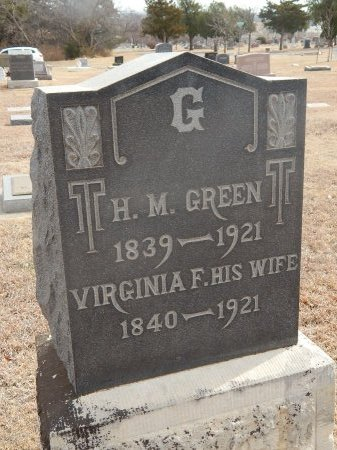 GREEN, HENRY M - Woods County, Oklahoma | HENRY M GREEN - Oklahoma Gravestone Photos