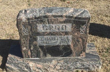 GROH, CHARLES A - Woods County, Oklahoma | CHARLES A GROH - Oklahoma Gravestone Photos