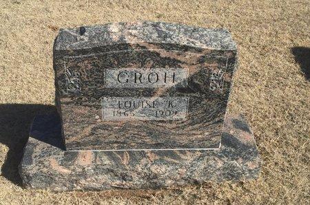 GROH, LOUISE K - Woods County, Oklahoma   LOUISE K GROH - Oklahoma Gravestone Photos