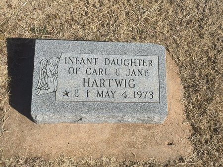 HARTWIG, INFANT DAUGHTER - Woods County, Oklahoma   INFANT DAUGHTER HARTWIG - Oklahoma Gravestone Photos