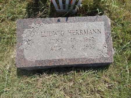 HERRMANN, LUDWIG - Woods County, Oklahoma | LUDWIG HERRMANN - Oklahoma Gravestone Photos