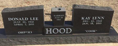 HOOD, DONALD LEE - Woods County, Oklahoma | DONALD LEE HOOD - Oklahoma Gravestone Photos