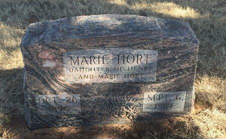 HORT, MARIE - Woods County, Oklahoma   MARIE HORT - Oklahoma Gravestone Photos