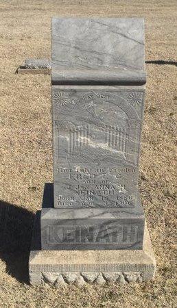 KEINATH, FRED E G - Woods County, Oklahoma   FRED E G KEINATH - Oklahoma Gravestone Photos