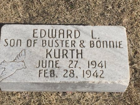 KURTH, EDWARD L - Woods County, Oklahoma | EDWARD L KURTH - Oklahoma Gravestone Photos
