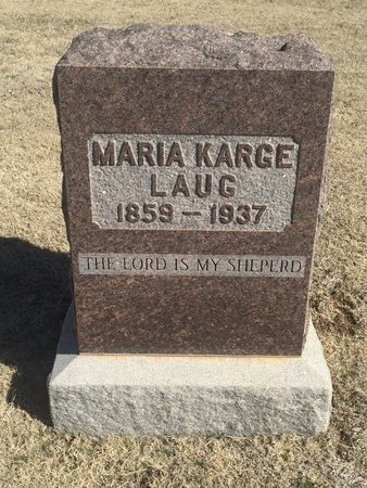 LAUG, MARIA - Woods County, Oklahoma   MARIA LAUG - Oklahoma Gravestone Photos