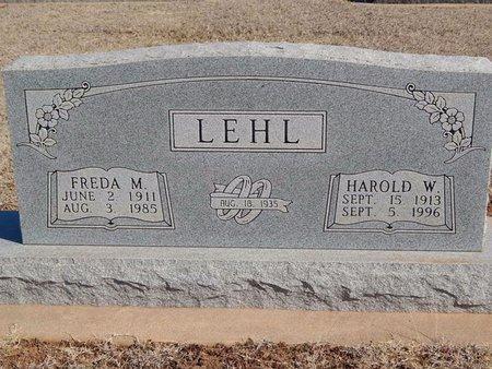 LEHL, FREDA M - Woods County, Oklahoma | FREDA M LEHL - Oklahoma Gravestone Photos