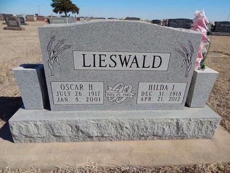 LIESWALD, HILDA I - Woods County, Oklahoma | HILDA I LIESWALD - Oklahoma Gravestone Photos