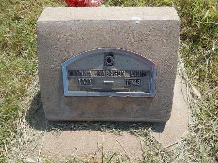 LINK, ANNA - Woods County, Oklahoma | ANNA LINK - Oklahoma Gravestone Photos