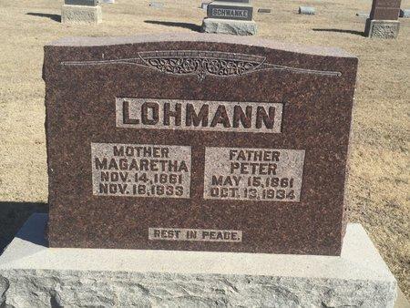 LOHMANN, PETER - Woods County, Oklahoma | PETER LOHMANN - Oklahoma Gravestone Photos