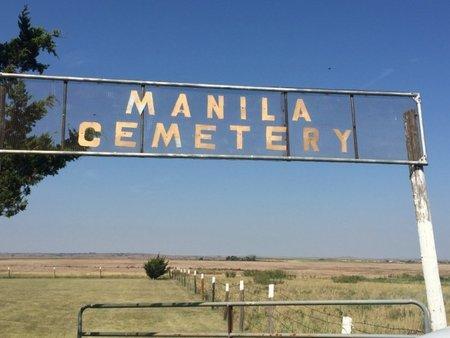 *MANILA CEMETERY, SIGN - Woods County, Oklahoma | SIGN *MANILA CEMETERY - Oklahoma Gravestone Photos