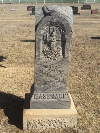 MASSMANN, HERMAN - Woods County, Oklahoma   HERMAN MASSMANN - Oklahoma Gravestone Photos