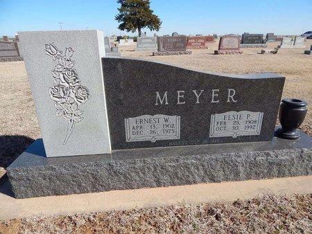 MEYER, ERNEST W - Woods County, Oklahoma | ERNEST W MEYER - Oklahoma Gravestone Photos