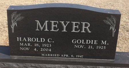 MEYER, HAROLD C - Woods County, Oklahoma | HAROLD C MEYER - Oklahoma Gravestone Photos