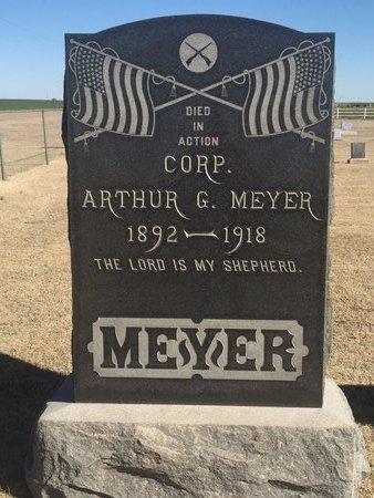 MEYER (VETERAN WWI), ARTHUR G - Woods County, Oklahoma | ARTHUR G MEYER (VETERAN WWI) - Oklahoma Gravestone Photos