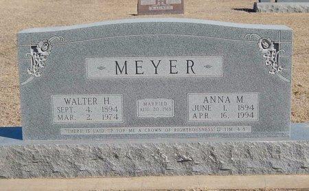 MEYER, ANNA M - Woods County, Oklahoma   ANNA M MEYER - Oklahoma Gravestone Photos