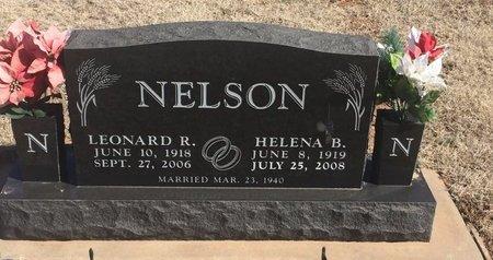 NELSON, HELENA B - Woods County, Oklahoma   HELENA B NELSON - Oklahoma Gravestone Photos