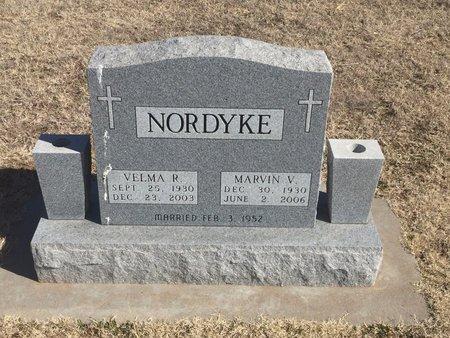 NORDYKE, MARVIN V - Woods County, Oklahoma | MARVIN V NORDYKE - Oklahoma Gravestone Photos