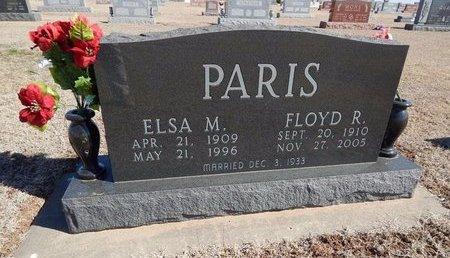 PARIS, ELSA M - Woods County, Oklahoma | ELSA M PARIS - Oklahoma Gravestone Photos